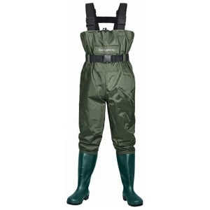 Dark Lightning Fishing Waders For Women