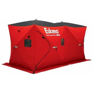 Eskimo Ice Fishing Shelter